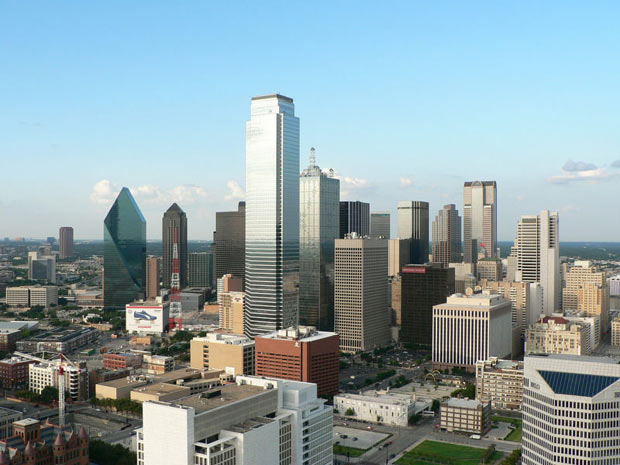 Le centre ville Dallas